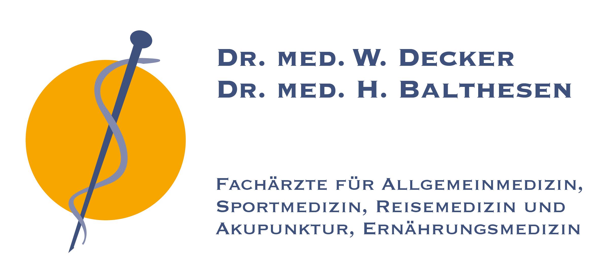 Praxis Decker & Balthesen Logo